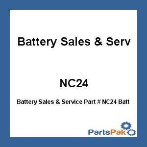 Battery Sales & Service Battery Sales & Service NC24 Batt Wet 12V Deep Cycle
