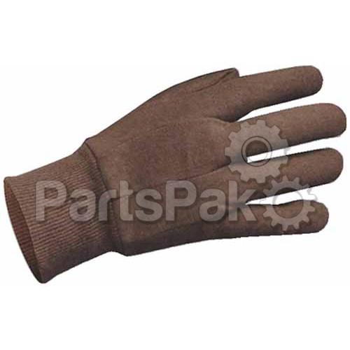 AMMEX GLOVES Ammex Ammex BJL Brown Jersey Gloves Large