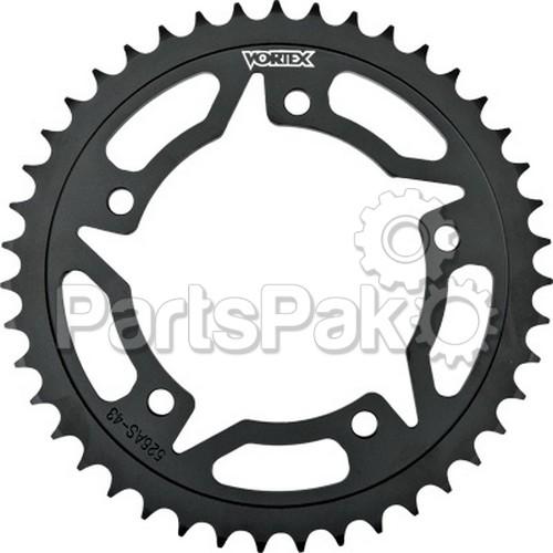 Vortex 438S-45; Steel Rear Sprocket Black 45T