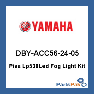 Yamaha DBY-ACC56-24-05 Piaa Lp530Led Fog Light Kit; DBYACC562405