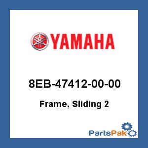 Yamaha 8EB-47412-00-00 Frame, Sliding 2; 8EB474120000 at Sears.com