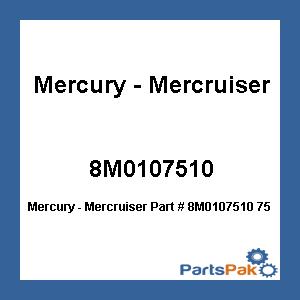 Mercury - Mercruiser 8M0107510