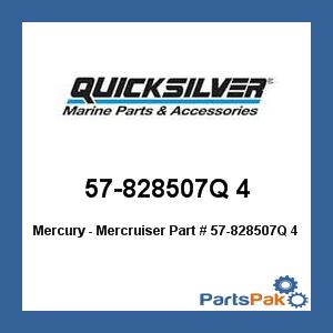 New Mercury Mercruiser Quicksilver Oem Part # 57-828507Q 4 Belt