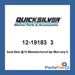 Mercury Quicksilver 12-19183 3 Seal-Blue