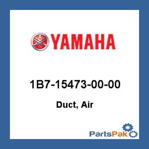 Yamaha 1B7-15473-00-00 Duct, Air; 1B7154730000