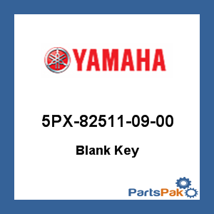 Yamaha Generator Key Blank