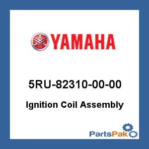 Yamaha 5RU-82310-00-00 Ignition Coil Assembly; 5RU823100000