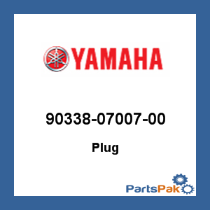 Yamaha 90338-18014-00 Plug Special Shape; 903381801400 Made by Yamaha