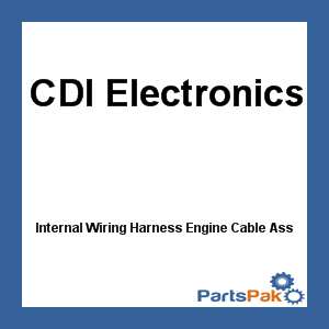 413-3047 Internal Wiring Harness Engine Cable Assembly 200 225 Hp 1986 1987 Evinrude Johnson Omc Outboard - New