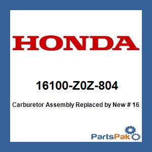 Honda 16100-Z0Z-805 CARBURETOR ASSY