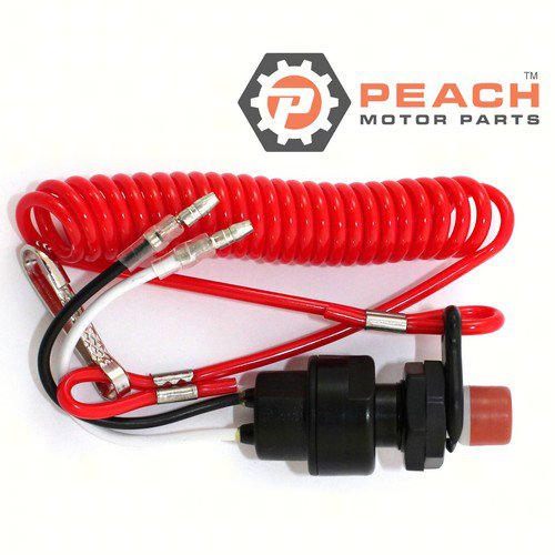 Peach Motor Parts PM-688-82575-01-00 Stop Switch embly; Replaces Yamaha®: on
