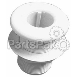 Forespar 906016; 1-1/4 Round Thru Hull Fitting With Nut Cf251