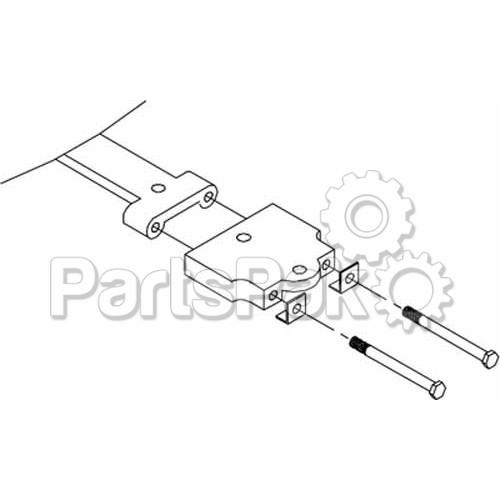 seastar solutions  teleflex  ho5035  tiller arm adapt kit
