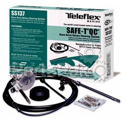 SeaStar Solutions (Teleflex) SS13712; Steering System Safe-T Quick Connect Package 12' SS13712