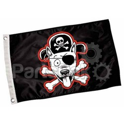 Paws Aboard 4300 Pirate Dog Flag