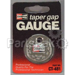 Champion Spark Plugs CT481; X Circulationu Gap Gauge Ct481 91671-