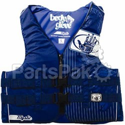 Body Glove 11234WSD1212 Mystic Womens PFD Livevest Life Jacket Blue S