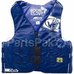 Body Glove 11234XSD1212 Mystic Mens PFD Livevest Life Jacket Blue Xs