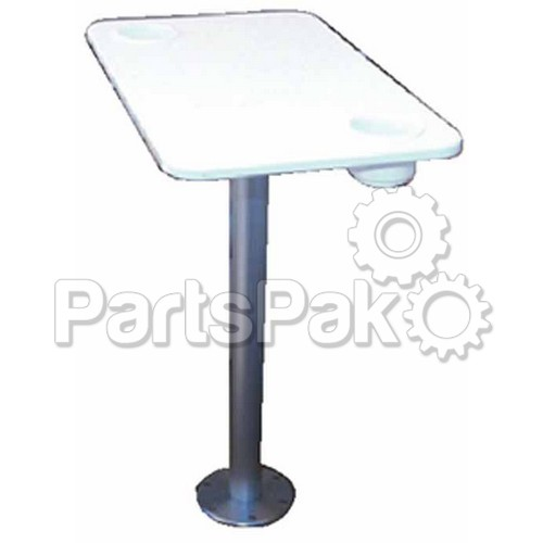 Garelick 75349 deluxe table pedestal w top for Garelick outboard motor stand