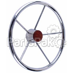 SeaChoice 28551 Ss Destroyer Steering Wheel-
