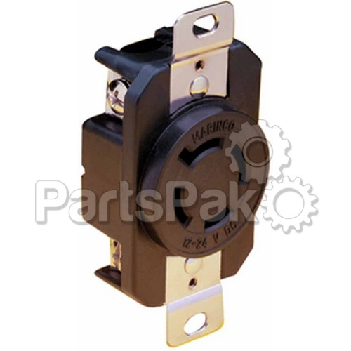 marinco 2018br receptacle 12 24v locking