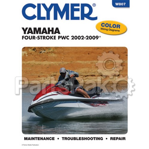 clymer manuals w807 yamaha waverunner pwc jet ski repair service manual rh partspak com yamaha jet ski parts manual yamaha jet boat repair manual