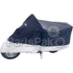 Fly Racing 111387; Deluxe Motorcycle Cover X-L Bl
