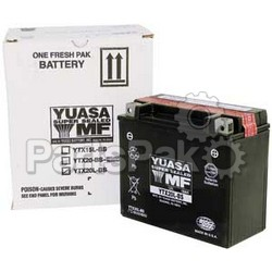 Yuasa YUAM327BS; Sealed Battery Ytx7L-Bs