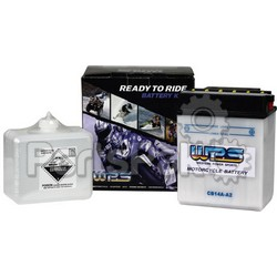 WPS - Western Power Sports CB12C-A; Battery W/Acid Pack Cb12C-A