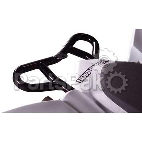 Pro Armor Y063059BL; Pro Rear Grab Bar Black Yfm700