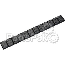 Motion Pro 08-0455; Wheel Weights Steel (Black)