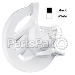 Polisport 8393000002; Front Disc Cover White Rm125/2