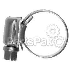 Awab 316017; 7/16 - 11/16 Stainless Steel Hose Clamps