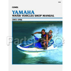 Clymer Manuals W806 Yamaha Waverunner PWC 1993 1994 1995 1996 Service Repair Manual