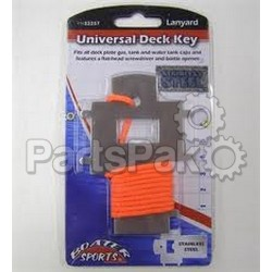 Boater Sports 53257; Universal Deck Plate Key
