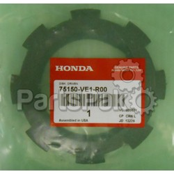 Honda 75150-VE1-R00 Disk, Driven; 75150VE1R00