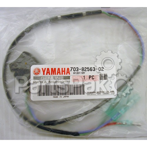 Yamaha 703-82563-01-00 Trim & Tilt Switch Assembly; New # 703-82563-02-00
