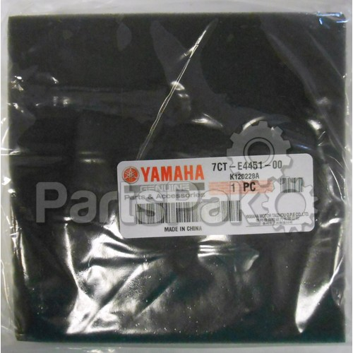Yamaha 7CT-E4451-00-00 Element, Air Cleaner; 7CTE44510000