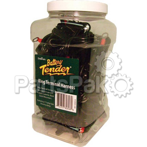 Battery Tender 081-0069-6-J25; Quick Disconnect Leads W/Ring