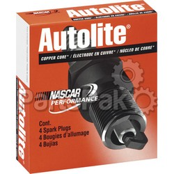 Autolite Spark Plugs 4302; Spark Plug 4302 Copper (Sold Individually)