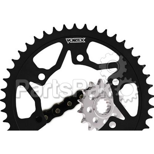 Vortex CK5135; Sprocket Chain Kit Suzuki W/Steel Rear Sprocket
