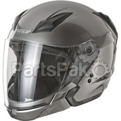 Fly Racing F73-8102-3; Tourist Helmet Titanium M