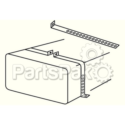 moeller 300110  metal tank cradle install kit
