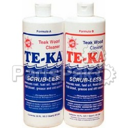 Marine Tex RM340K Te-Ka Teak Cleaner Quart Kit (part A = 16 oz; part B = 16 oz)