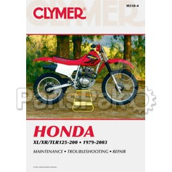 Clymer Manuals M3184; Honda Xl/Xr125-200 Motorcycle Repair Service Manual