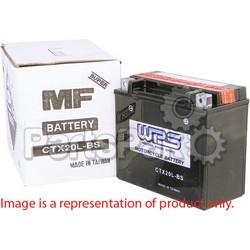 WPS - Western Power Sports CTX14L-BS; Battery Maint Free Ctx14L-Bs