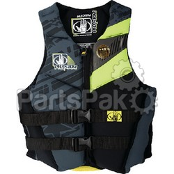 Body Glove 12224W2XLLEMBLK Phantom Womens 2Xl Chartreuse/Black Life Jacket