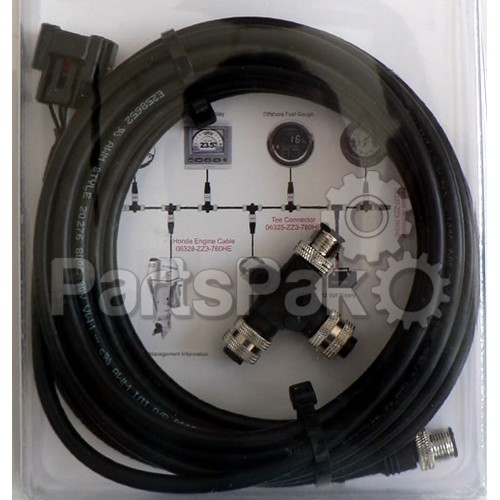 Honda 06328-ZZ3-760HE Nmea 2000 Cable, 6M With T Connector; New # 06653-ZZ3-760HE