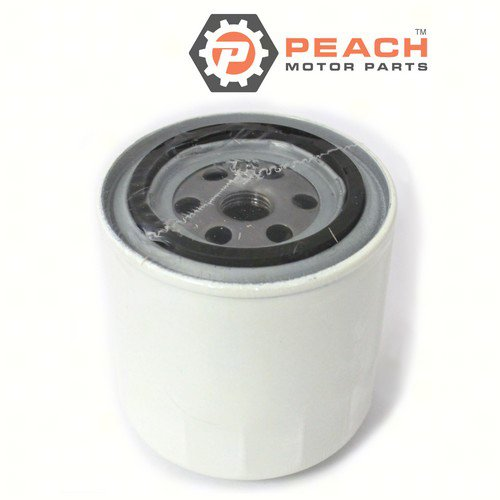 Peach Motor Parts PM-35-802893Q01 Fuel Filter, Water Separator (10 Micron) (3.75 Inches Tall); Replaces Mercury Marine®: 35-802893Q, 35-802893Q01, 35-802893T, 35-805269, 35-807172, 35-60494, 35