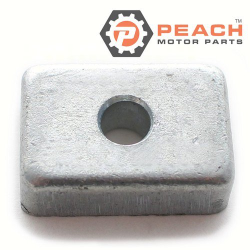 Peach Motor Parts PM-3H6602180M Anode, Transom Bracket & Lower Unit Gearcase Zinc; Replaces Nissan Tohatsu®: 3H6602180M, 3H6-60218-0, 3H6602180
